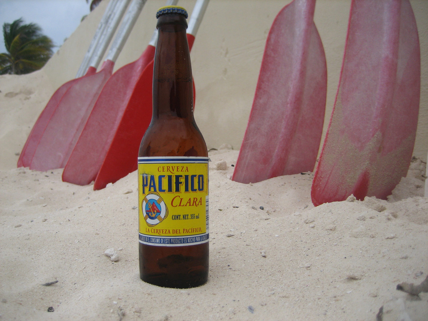 Pacifico Mexican beer is great on the beach or during Cinco De Mayo.