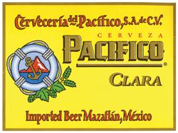 Pacifico Mexican beer is a great summer beer.