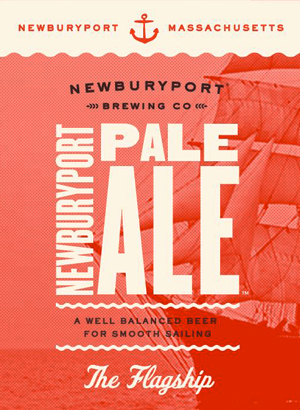 Newburyport summer Pale Ale flagship beer.