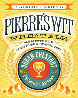 Pierres Summer Belgian Wit is great for the lake.