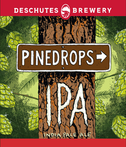 Pinedrops summer IPA is a bold refreshing summer beer.