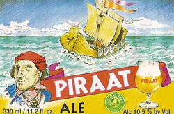 Summer Piraat beer is a curious choice for hot weather.