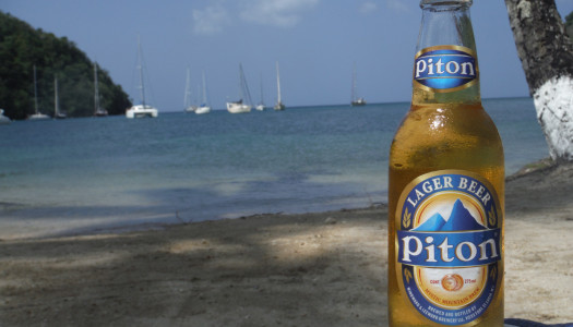 Piton Caribbean St. Lucia Beer
