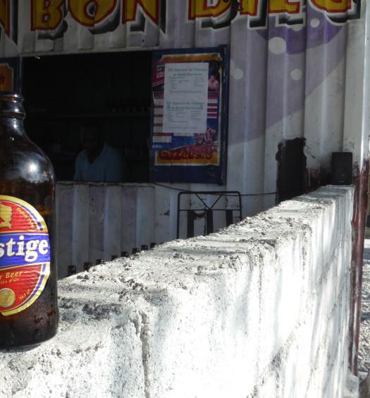 Prestige Lager Haiti beer is the best Caribbean beer on the island.