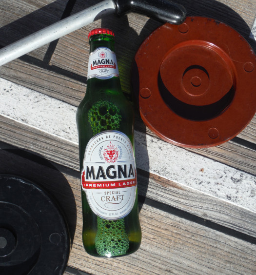 Magna beer is a good Puerto Rican beer.