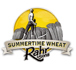 Rahr Summertime Wheat beer is a perfect summer brew.