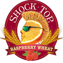 Shock Top Raspberry Wheat is a summer fruity beer.