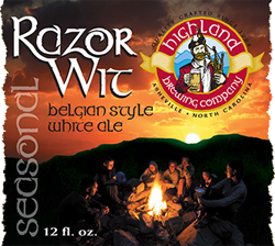 Highland's Razor Wit is a great summer seasonal witbier.