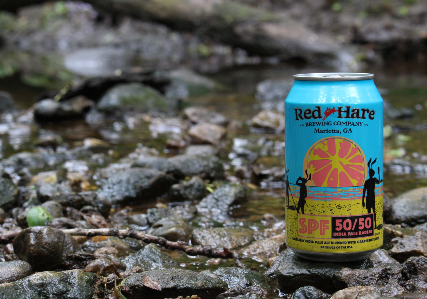 Red Hare SPF 50/50 India Pale Radler is a perfect summer beer.