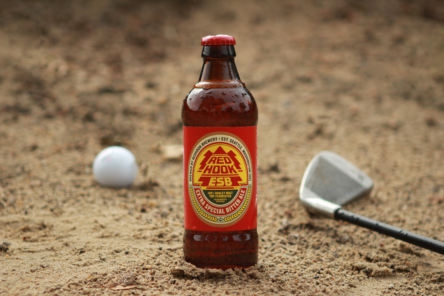 Redhook Extra Special Bitter (ESB) is a summer beer perfect for golf.