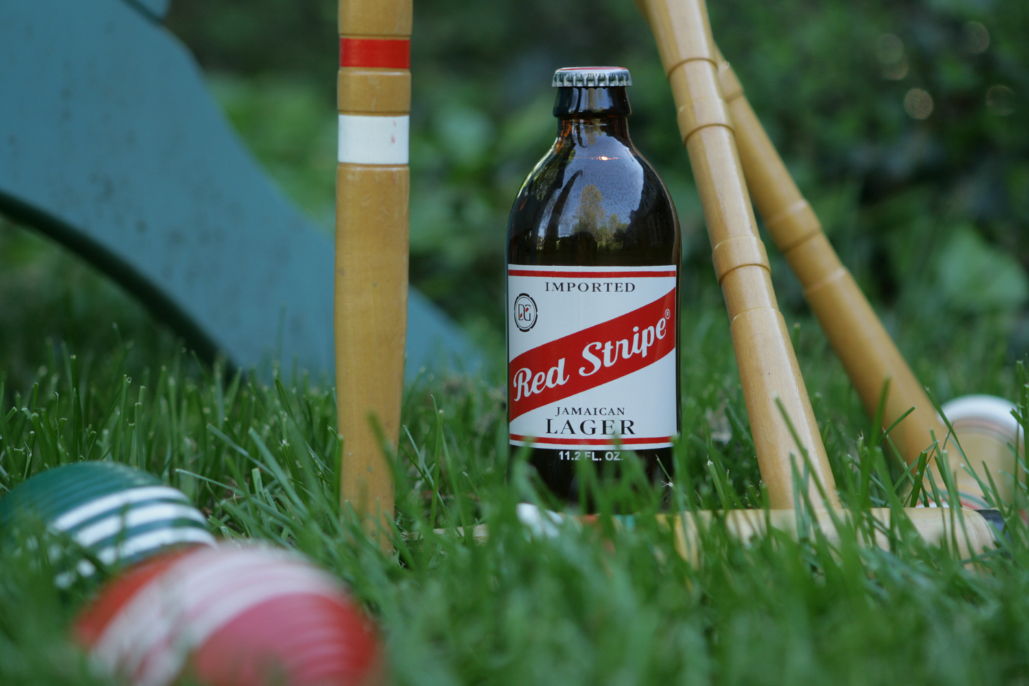 Red Stripe beer is popular on the islands and in America.