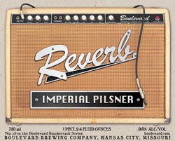 Boulevard Reverb limited edition summer beer is great for the afternoon.