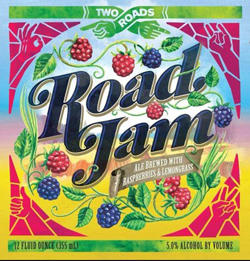 Summer Raspberry beer Road Jam from Two Roads.