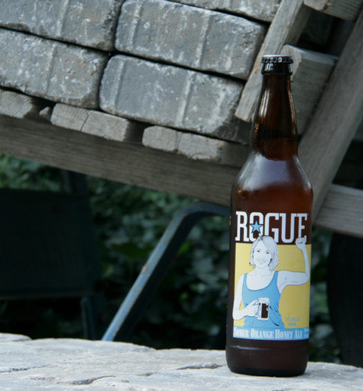 Rogue Summer Somer Orange Honey beer for the season.