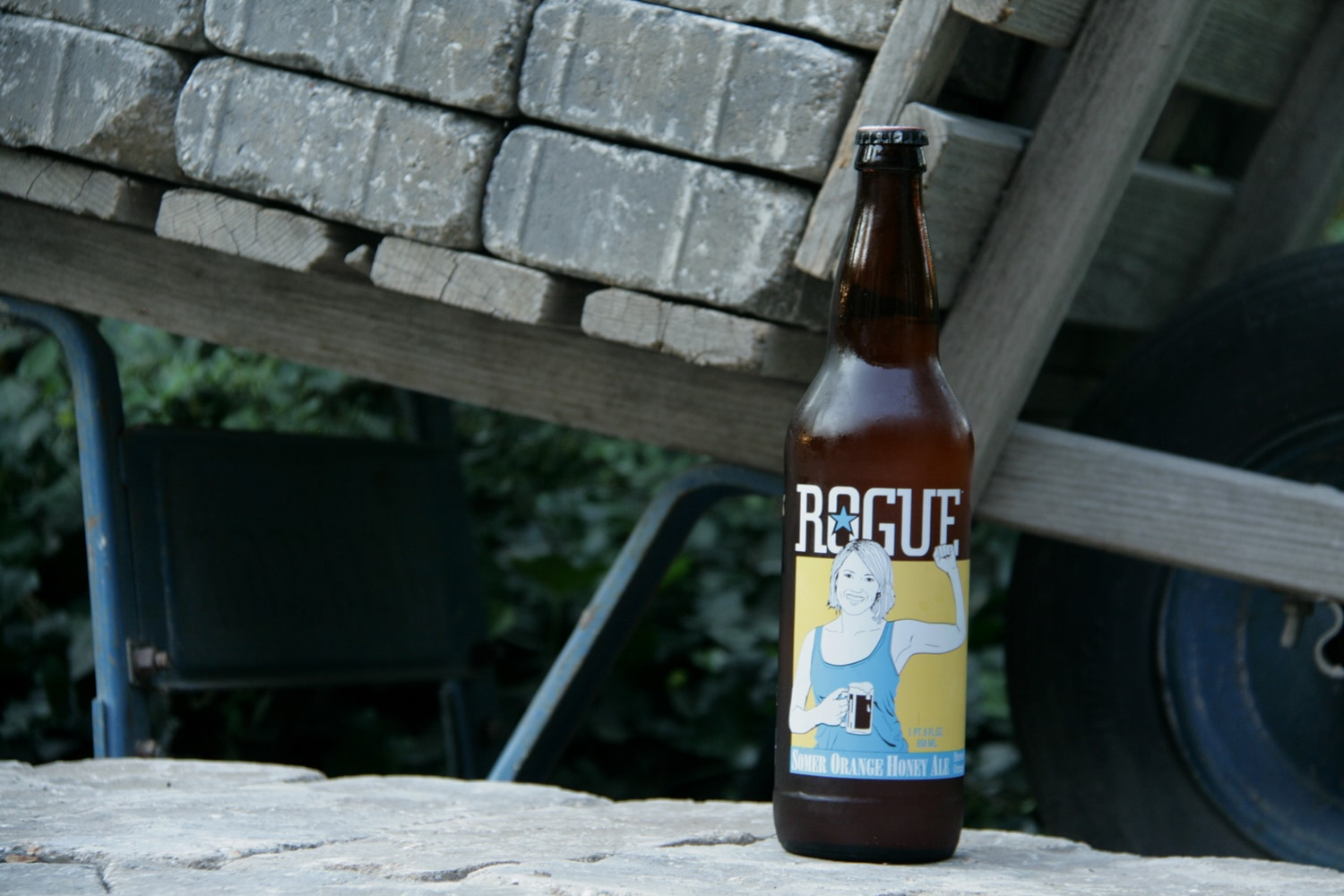 Select Rogue Orange Somer beer for the season.