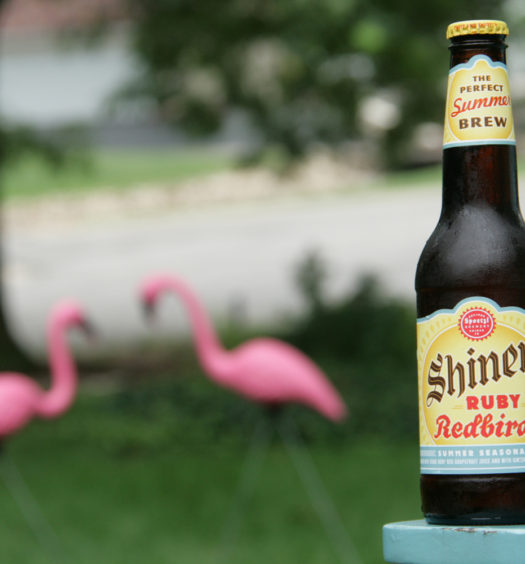 Ruby Redbird summer beer is best pours with a red color.
