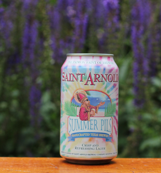 Saint Arnold Summer Pills is a great Texas summer beer.