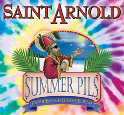 Summer Pils from Saint Arnold Brewing in Houston Texas.
