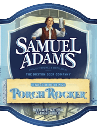 Samuel Adams radler Porch Rocker is a shandy summer beer.