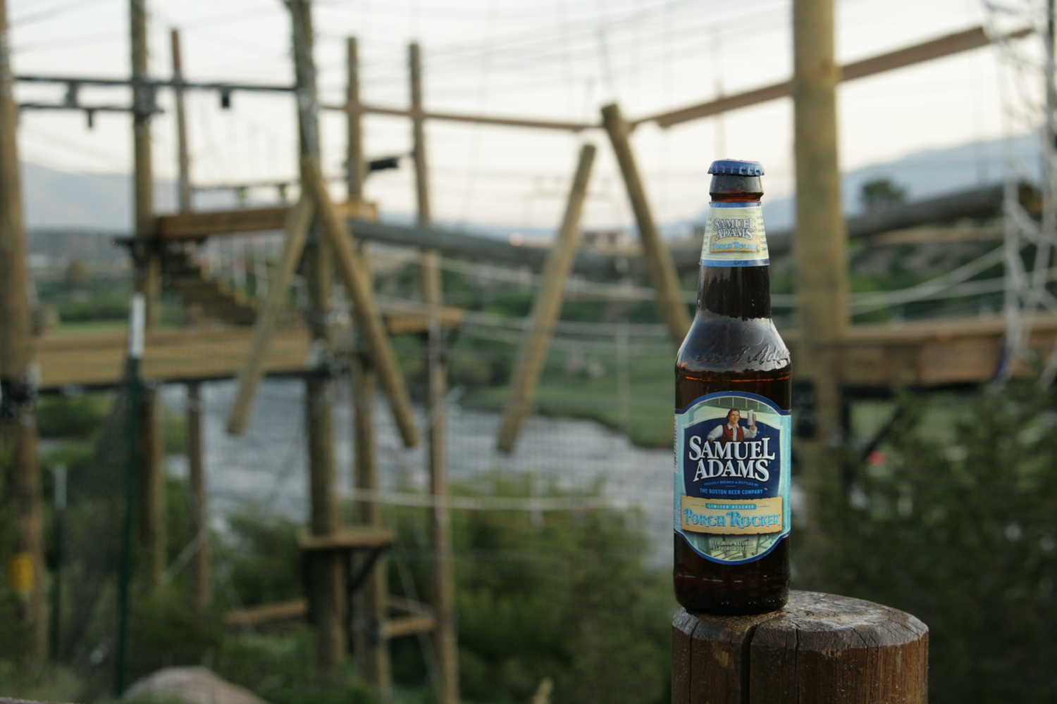 Porch Rocker Samuel Adams radler is a well crafted summer beer.