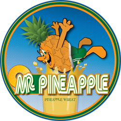 Mr. Pineapple beer is just fun on a hot summer day.