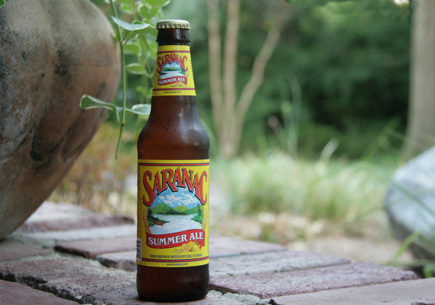 Saranac American summer beer is a great seasonal refresher.