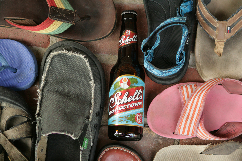 Find Goosetown seasonal summer gose beer.