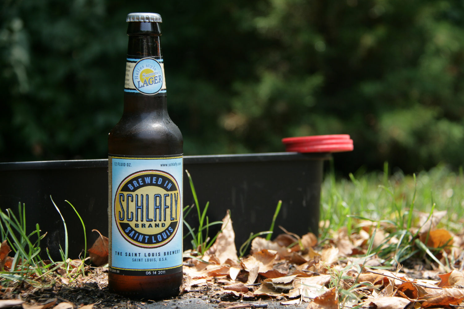 Schlafly summer beer is a tasty helles-style lager.