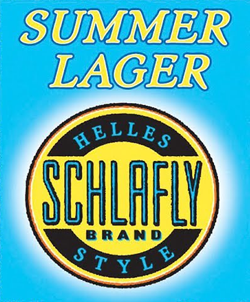 Schlafly Summer Helles-Style Lager is perfect for the long season.