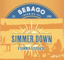 Sebago's Simmer Down is a top summer session beer.