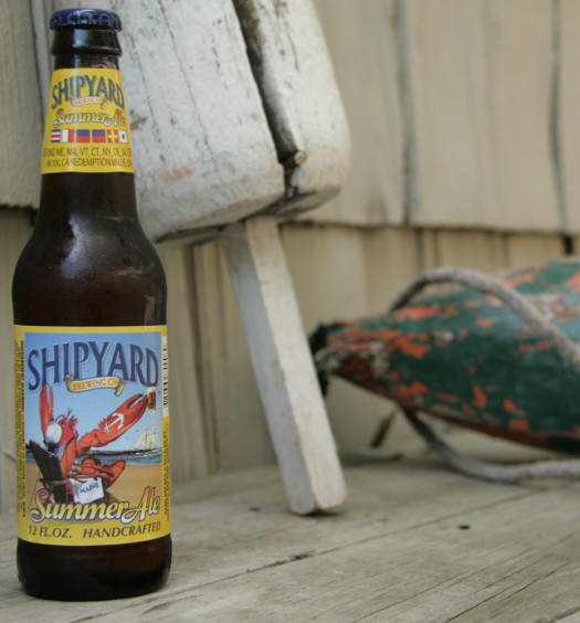 Shipyard Summer Ale is a favorite seasonal summer beer for many.