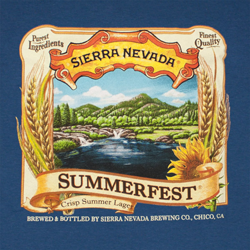 Sierra Nevada Summerfest beer is a fine craft summer brew.