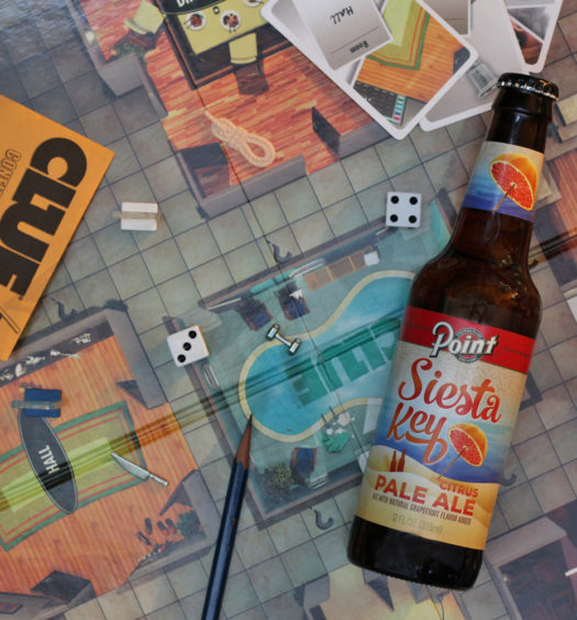 Get a Clue and visit Siesta Key Citrus Pale Ale.