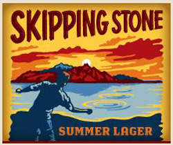 Review of Skipping Stone Summer Utah beer.