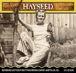 Summer seasonal beer Hayseed from Smuttynose Brewing.