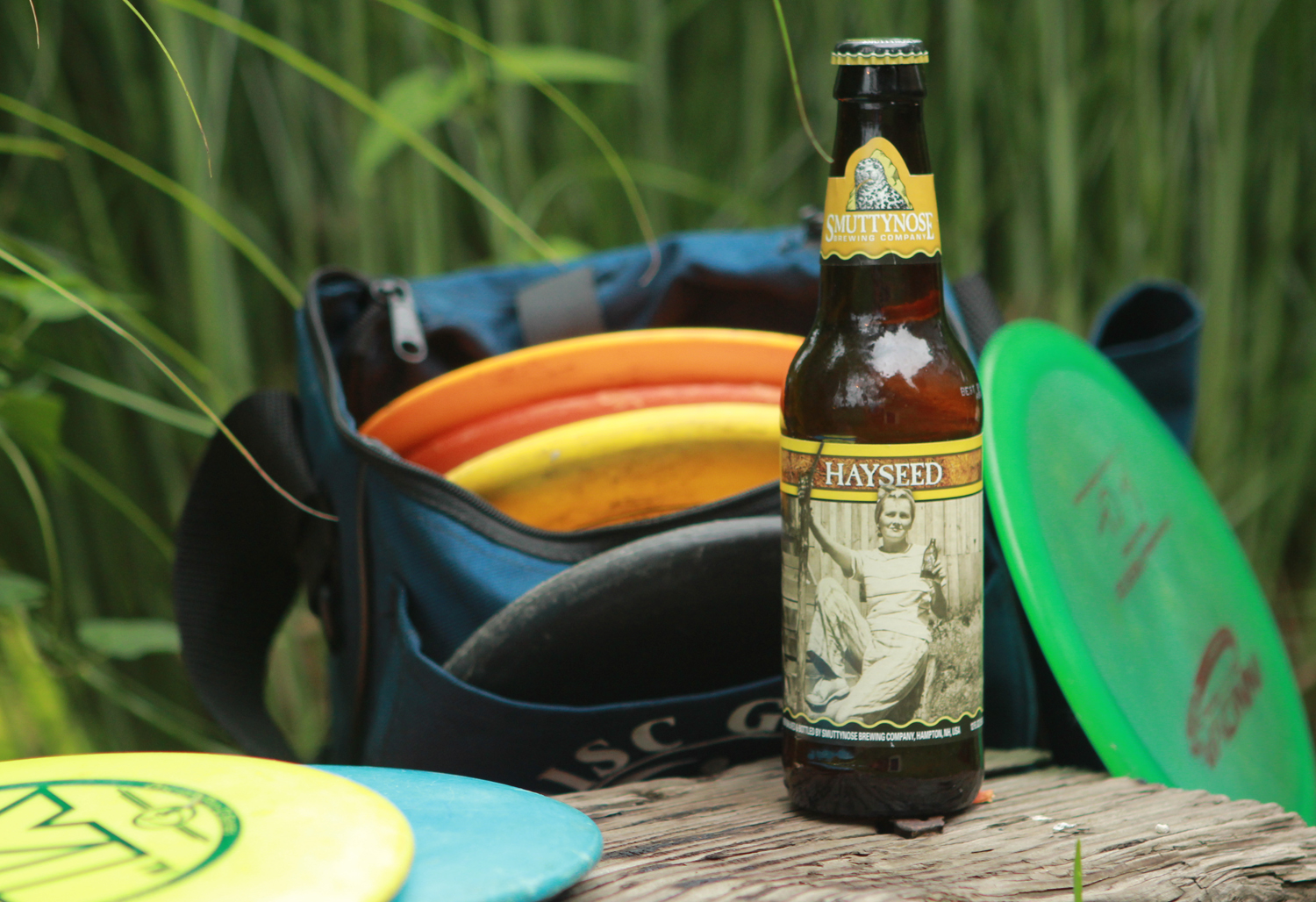 Hayseed summer seasonal beer is a Farmhouse Ale.