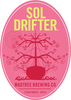 Madtree Sol Drifter is a refreshing summer strawberry beer.