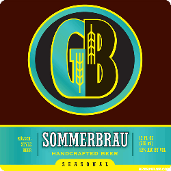 Gordon Biersch summer beer Sommerbrau is a great refresher.