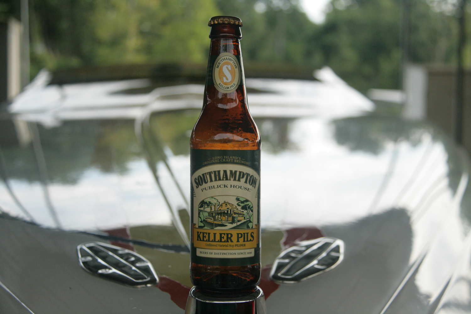Summer requires Southampton Keller Pils New York beer.