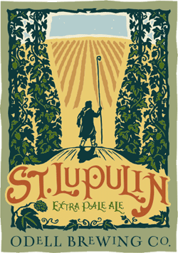 St Lupulin summer seasonal American Pale Ale beer