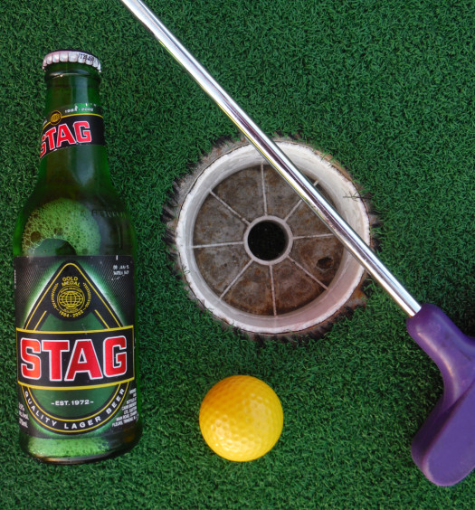 Find Stag St. Kitts beer on the beaches of Caribbean.