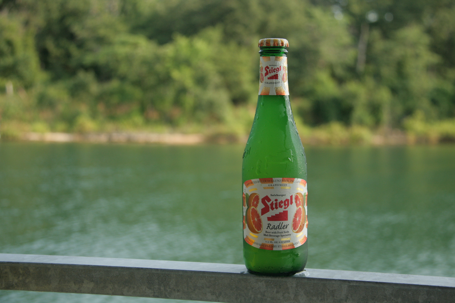 Stiegl grapefruit radler is a popular summer shandy beer.
