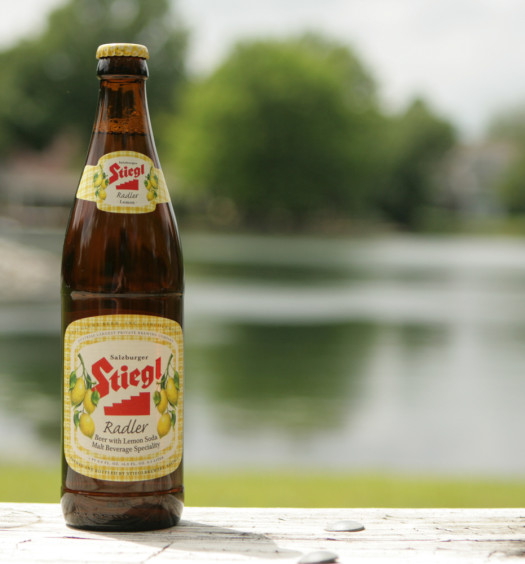 Find Stiegl's delicious fruit lemon radler beer this summer.