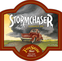 Stormchaser American ipa craft beer is great for summer.