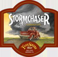 Stormchaser American ipa craft beer is great for summer.
