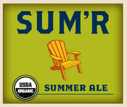 Drink Sum'r seasonal summer organic beer from Uinta.
