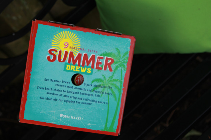 Summer brew mix pack from World Market.