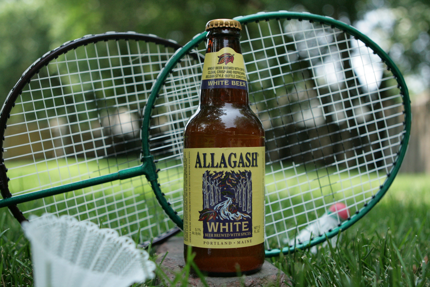Allagash White is a perfect summer belgian wheat beer for evenings on the porch.
