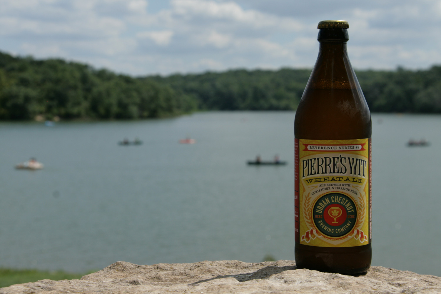 Pierre's Wit is a refreshing summer Belgian wit beer to cool the heat.