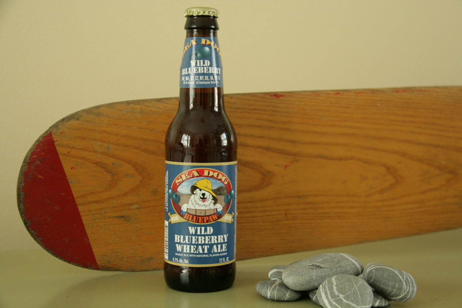 Drink summer blueberry beer from Sea Dog.